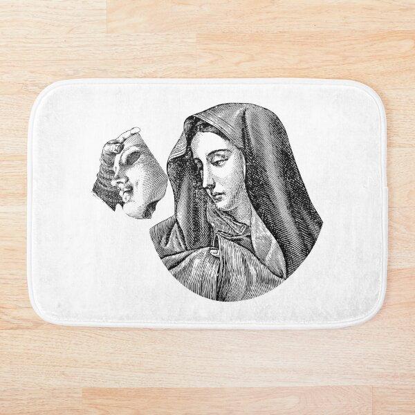 Virgin Mary Vendetta. Bath Mat