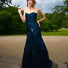 Girl in Blue Dress by Robert Drobek