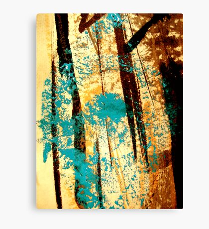 swamp eye.... ancient aki spirits Canvas Print
