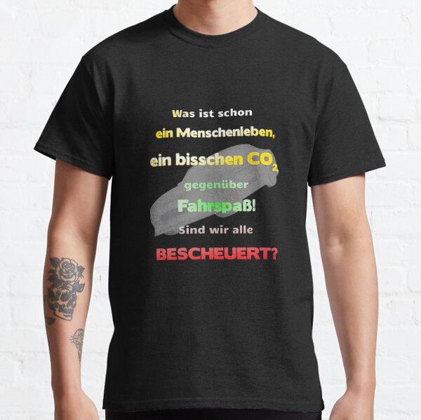 Auto, Fahrspaß gegen Umwelt Classic T-Shirt