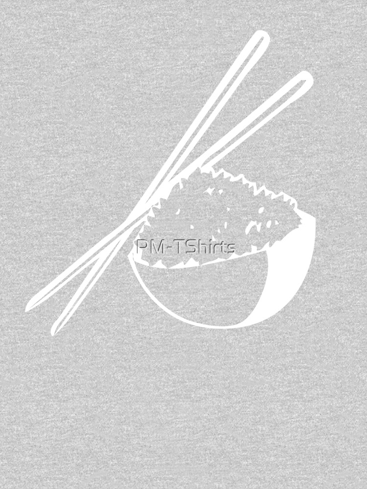 Asian food symbol chinese by PM-TShirts