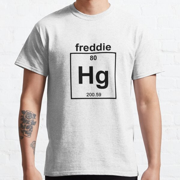 Freddie Mercury T-shirt classique