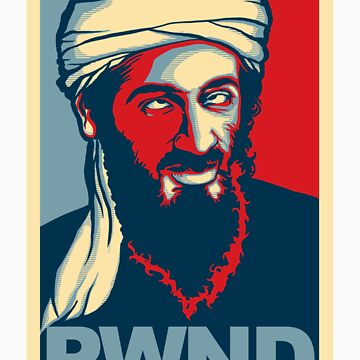 PWND - OSAMA STICKER by 6amCrisis