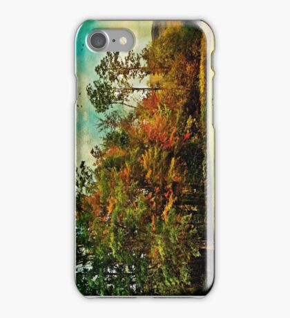 Living at the top of the mountain iPhone Case/Skin