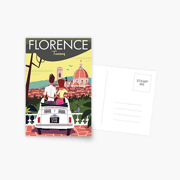 Florence poster Postcard