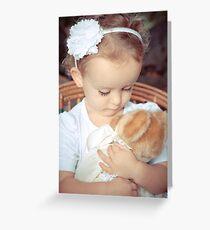 Adoring Teddy   Greeting Card