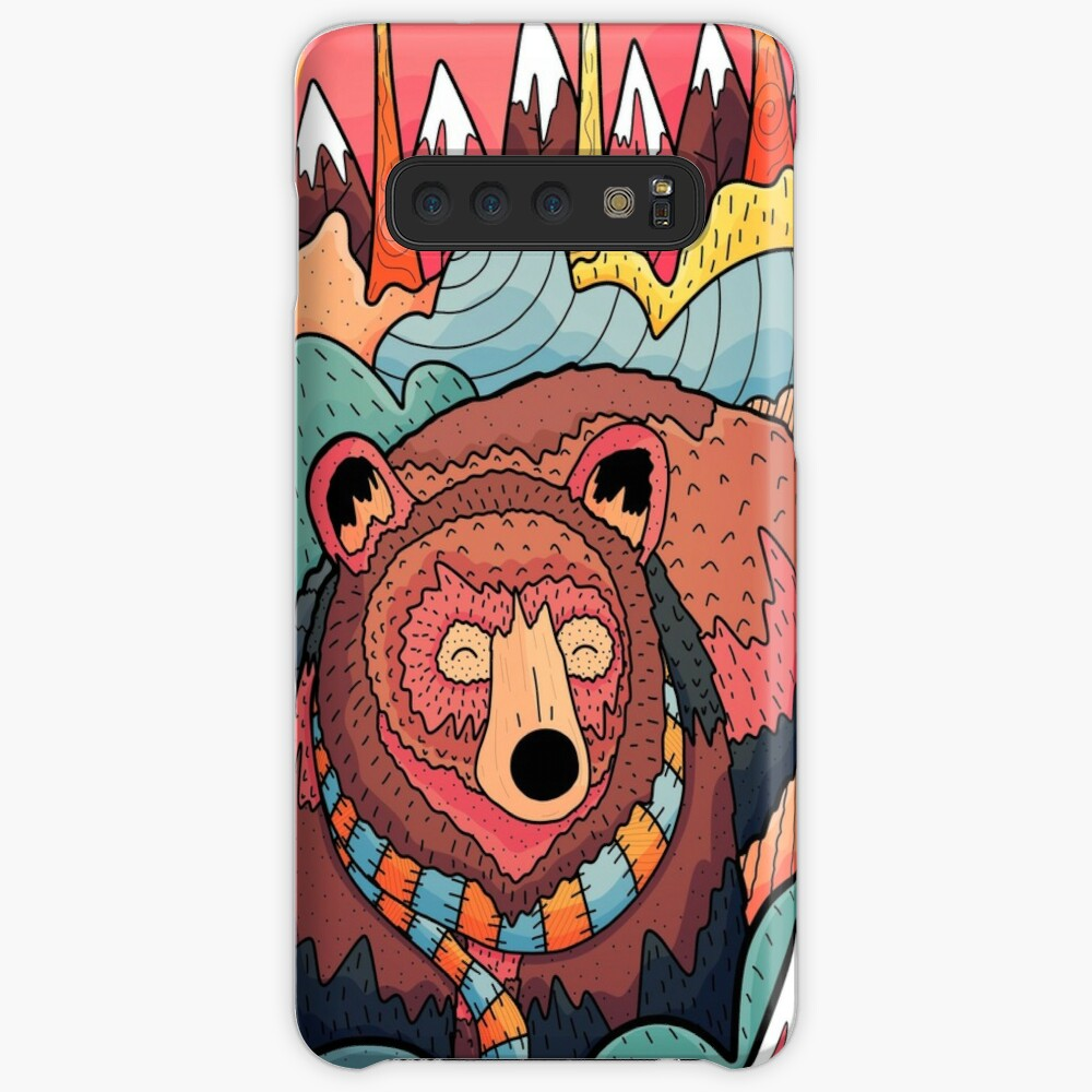 Winter bear forest Case & Skin for Samsung Galaxy