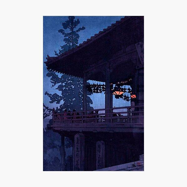 Evening in Nara by Yoshida Hiroshi Photographic Print