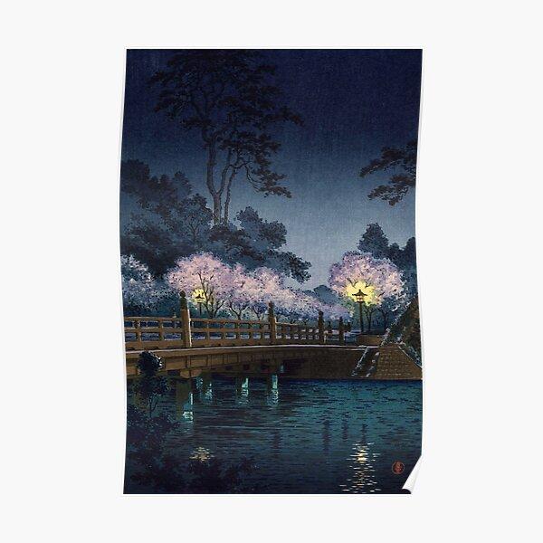 Benkei Bridge by Tsuchiya Koitsu Poster