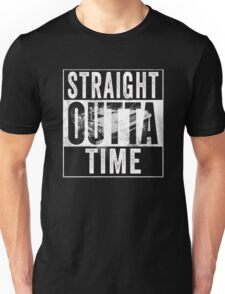 Straight Outta Time Back to the Future  Unisex T-Shirt