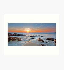 Sunrise on Coolum Art Print