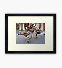 Cool Zigongosaurus Framed Print