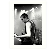 Bass Player Art Print