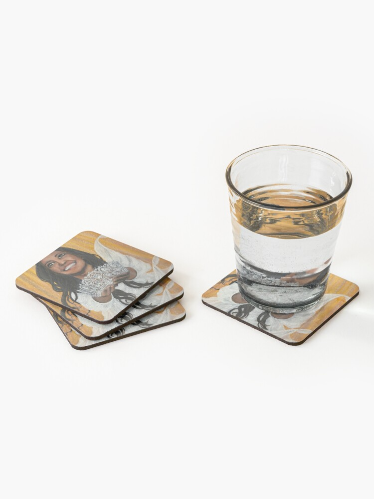 Alternate view of The Crown of Reward - Coasters and Blocks Coasters (Set of 4)