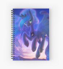 Princess Luna in the Sky Spiral Notebook