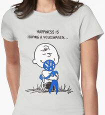 Happiness is ... Womens Fitted T-Shirt