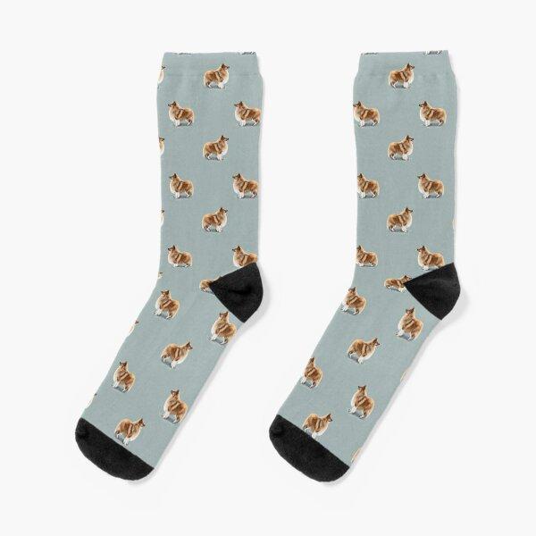 The Shetland Sheepdog Socks