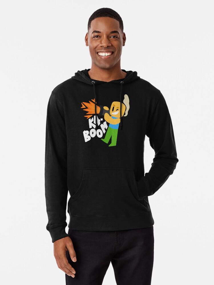 Kaboom Roblox Inspired Animated Blocky Character Noob T Shirt