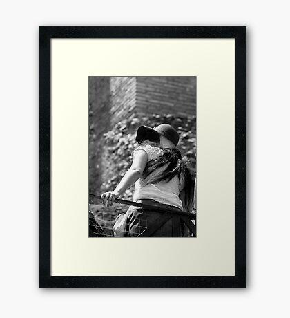 Sun Hat Framed Print
