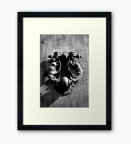 Door Handle - Italy Framed Print