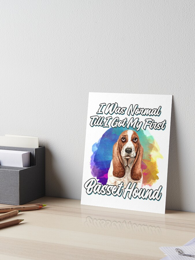 Funny Gifts for Pet Lover Sweatshirt The Best Therapy is Basset Hound Dog