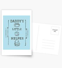 Daddy's Little Helper Postcards