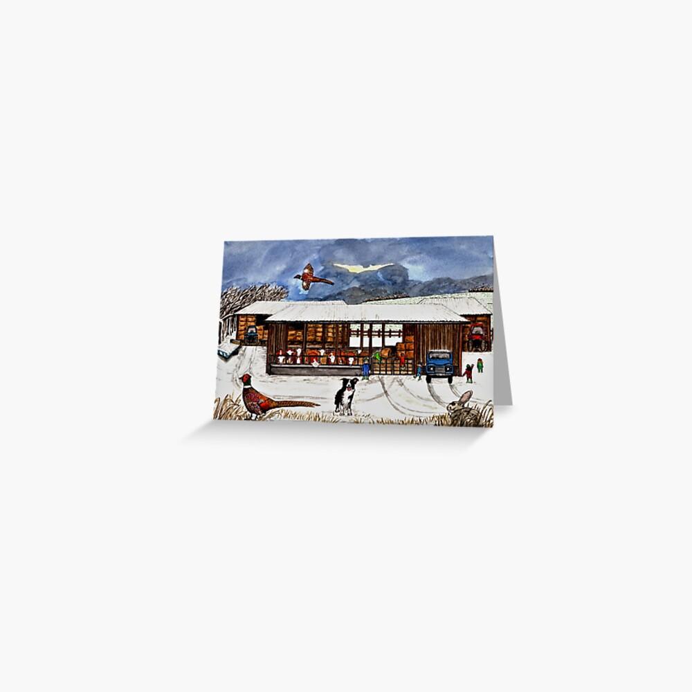 Winter Life - Postcard Greeting Card