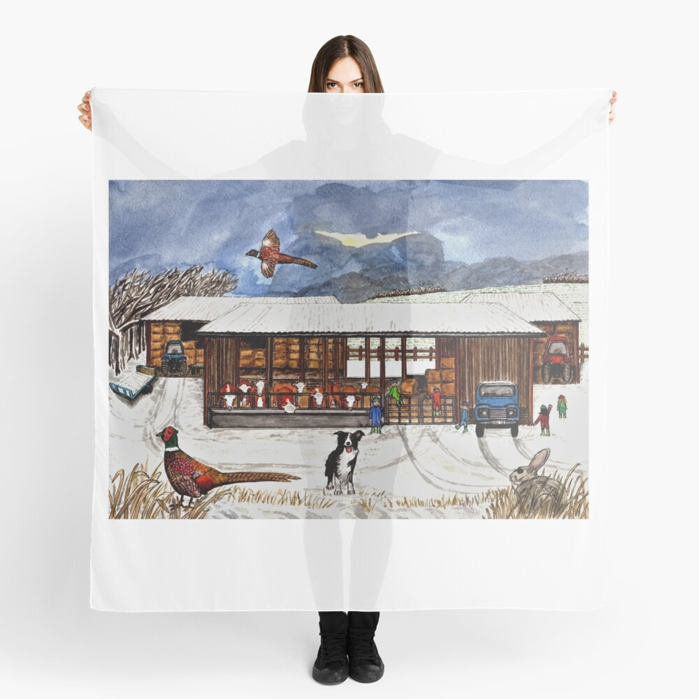 Winter Life - Scarf and Clothing Scarf