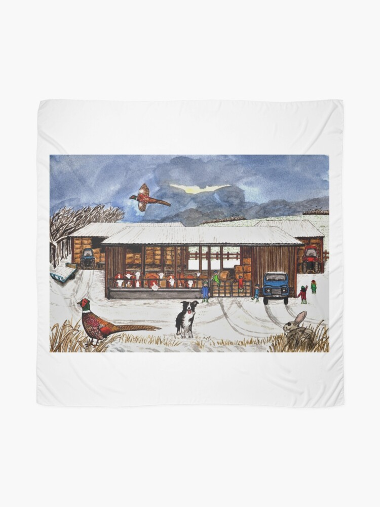 Alternate view of Winter Life - Scarf and Clothing Scarf
