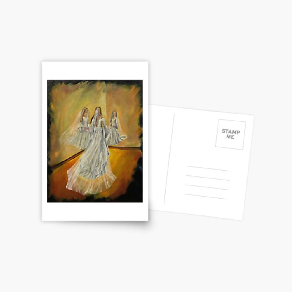 Wedding Card - Blank Postcard