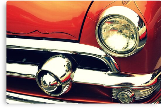 The Lure of Paint and Chrome by Lyle Hatch