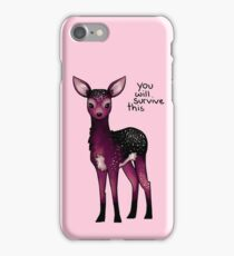 Galaxy Sparkle Fawn iPhone Case/Skin