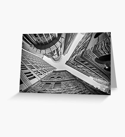 Dizzying Up - Sydney - Australia Greeting Card