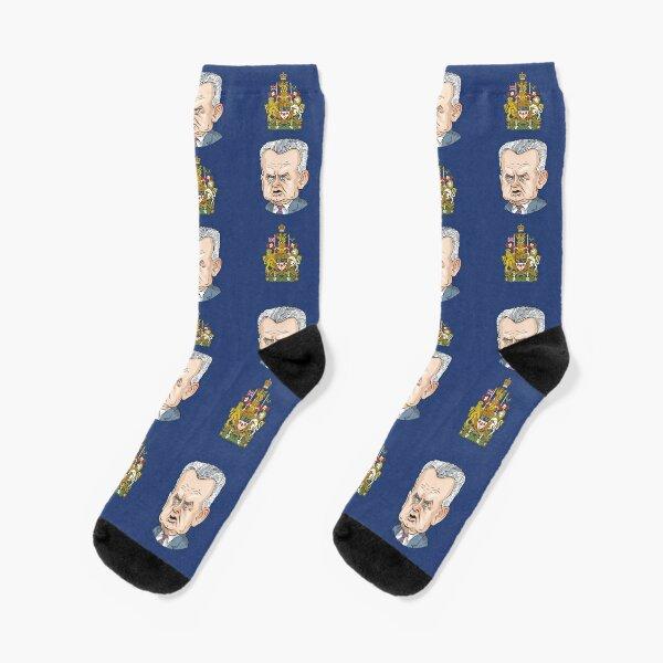 John Diefenbaker, Prime Minister of Canada 1957-1963 Socks
