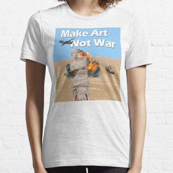 Make Art, Not War Essential T-Shirt