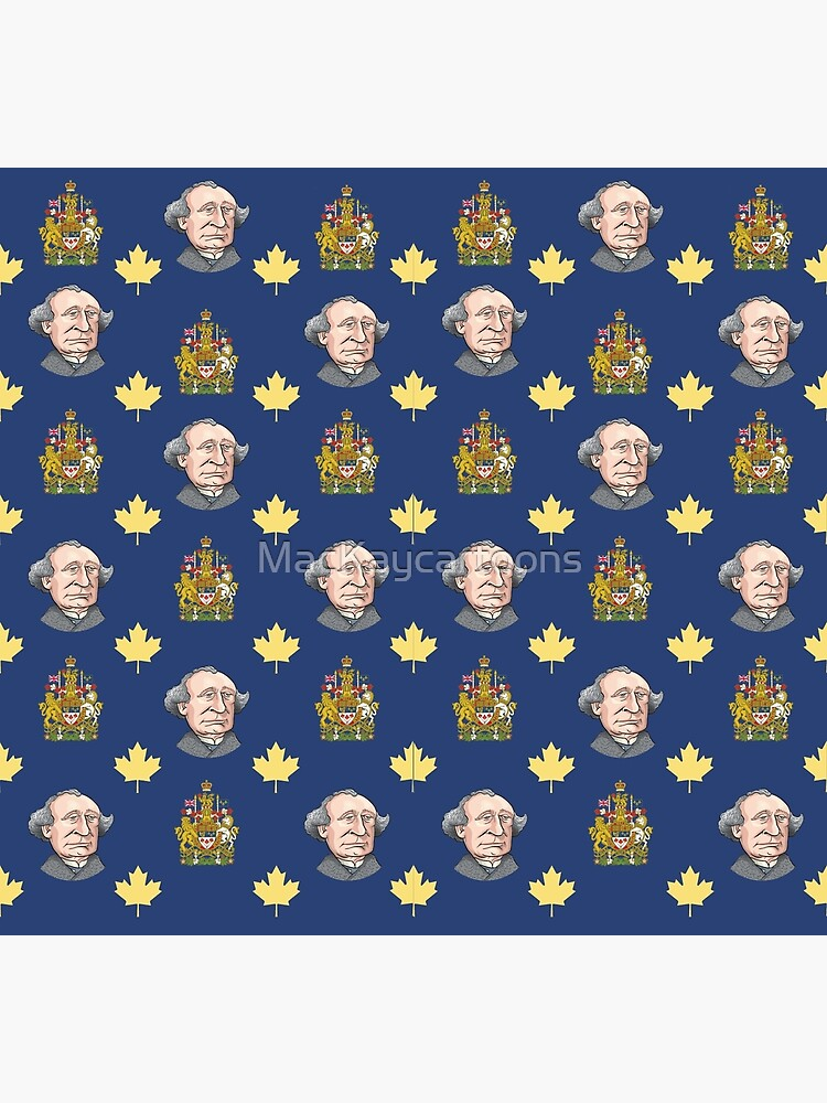 John A. Macdonald by MacKaycartoons