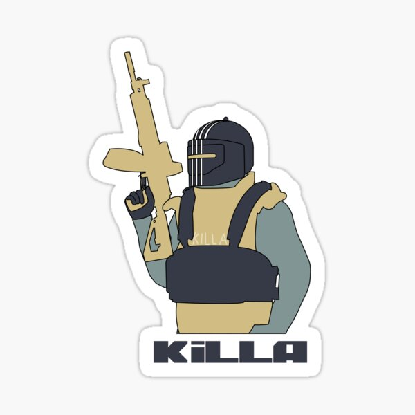Killa - Escape From Tarkov Sticker
