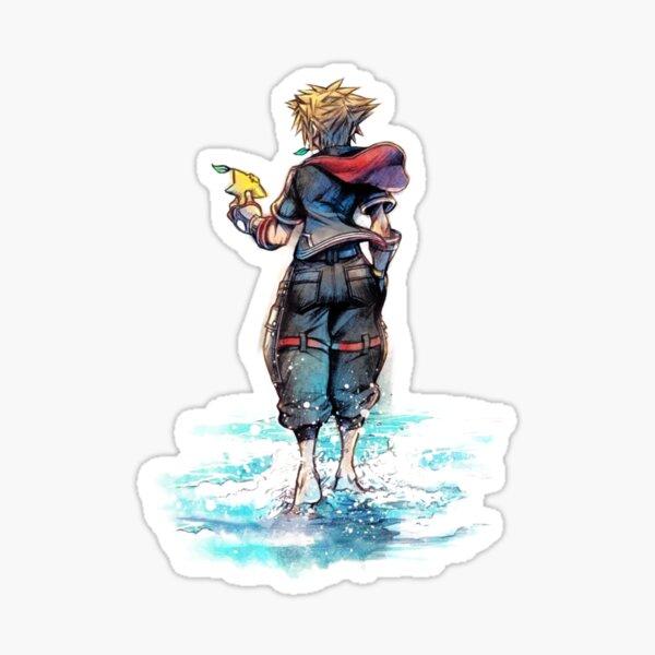 Sora Kingdom Hearts 3 Sticker