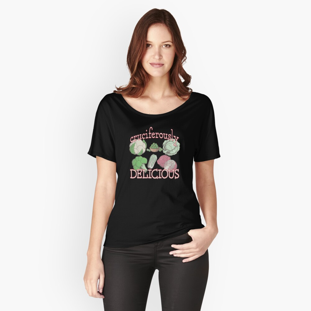 Cruciferously Delicious. Relaxed Fit T-Shirt