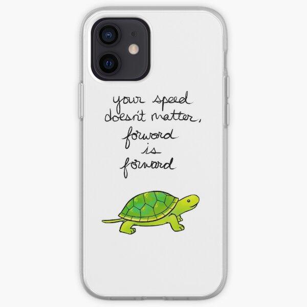Forward is Forward Turtle iPhone Soft Case