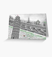 Italia Greeting Card