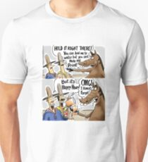 Happy Hour Horse - A Western Hero Unisex T-Shirt