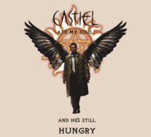 Castiel ate my soul t-shirt