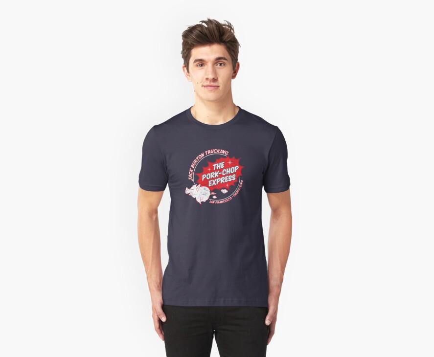 Jack Burton Trucking Pork Chop Express by superiorgraphix