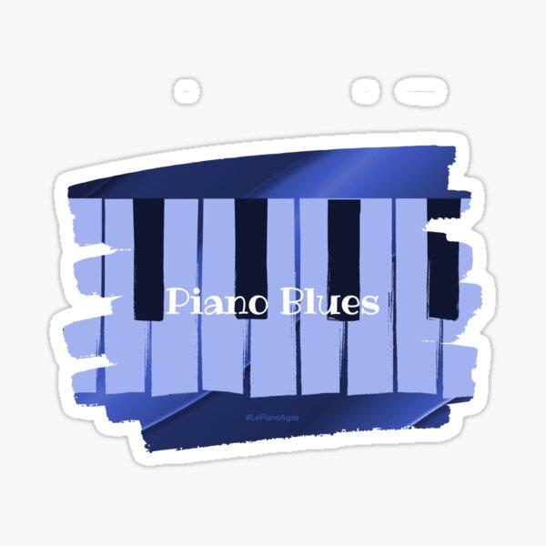 Piano Blues Sticker