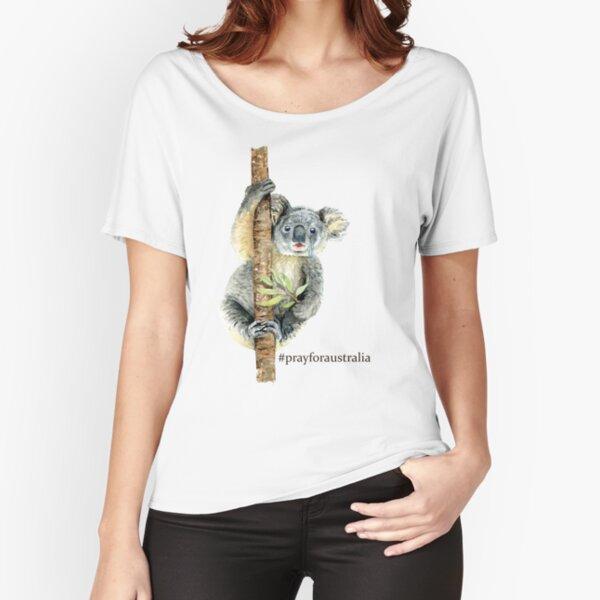 Pray for Australia Koala  Relaxed Fit T-Shirt