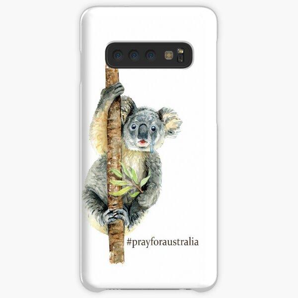 Pray for Australia Koala  Samsung Galaxy Snap Case