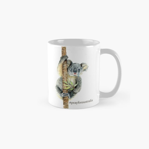 Pray for Australia Koala  Classic Mug
