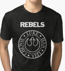 I Wanna Be a Rebel Tri-blend T-Shirt
