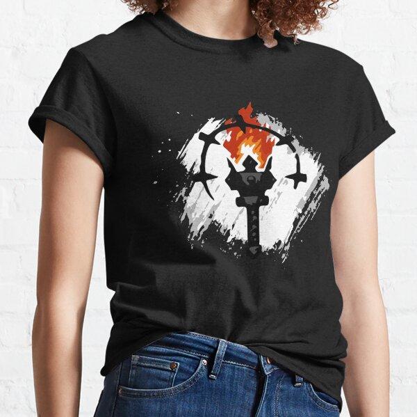 Joueur de donjon le plus sombre T-shirt classique